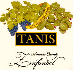 Zinfandel Label Art with grapevines, poison oak, and wedding ring